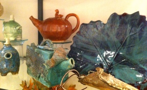 Pottery and ceramics by Candy Wheat and the Trinity Center for Faith and Art
