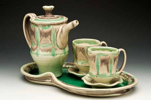 Tea Set by Amelia Stamps